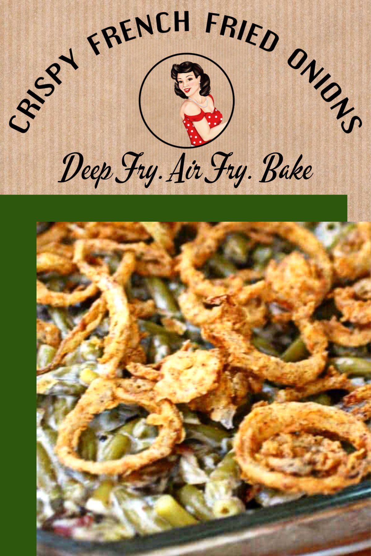 Crispy French Fried Onions {Fried, Air Fried, or Baked} #howtofryonions