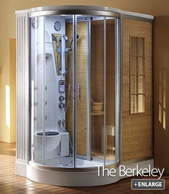 Steam Planet, 64 In. X 47 In. X 86 In. Steam Shower Enclosure Kit With  Built In Traditional Sauna In White And Golden Cypress, At The Home Depot    Mobile