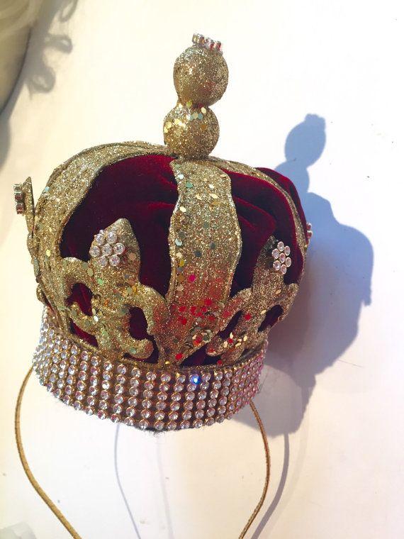 Queen Crown Princess Crown King Crown Birthday Hat by doramarra