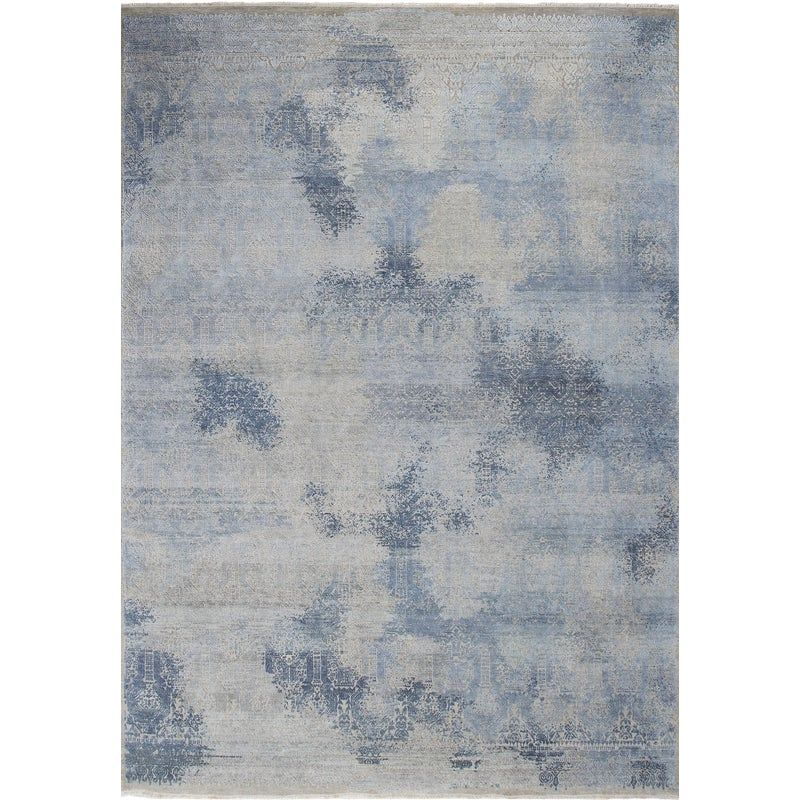 Hand Knotted Wool Silk