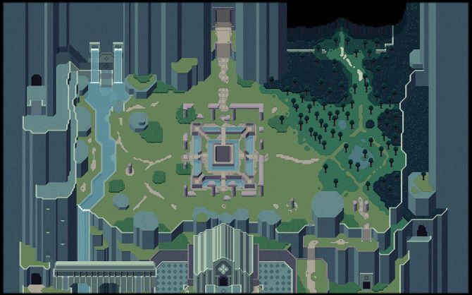 titan souls world map Image Result For Titan Souls Pixel Art Indie Games Read Only