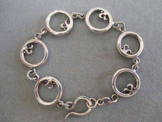 Sterling Silver Bracelet by RichelleJewelry on Etsy, $160.00