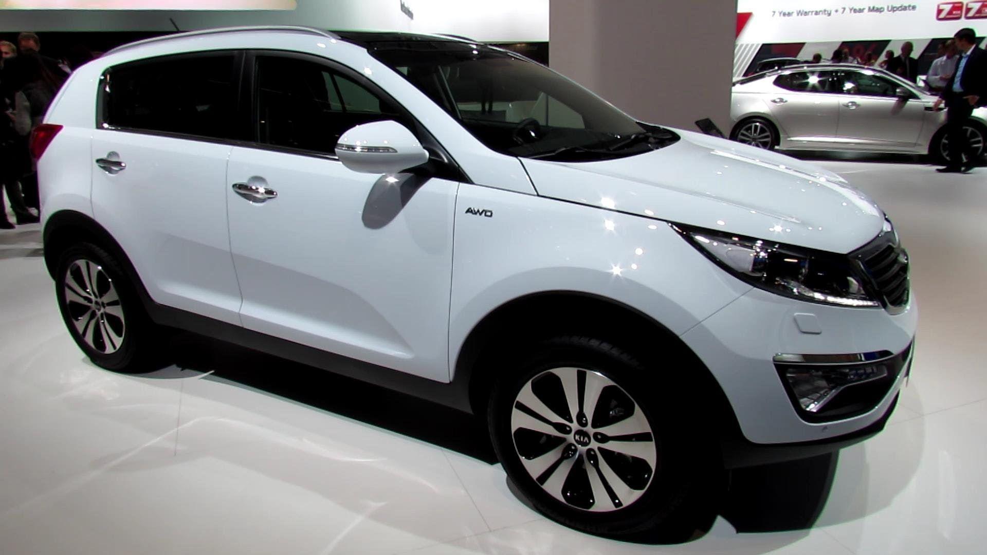 2014 KIA Sportage CRDi AWD Diesel - Exterior and Interior Walkaround