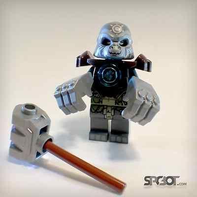New Lego Chima Grumlo Grey Gorilla from 70008 GORZAN GORILLA STRIKER @spcbot #lego #chima #legoChima #ebay #spcbot