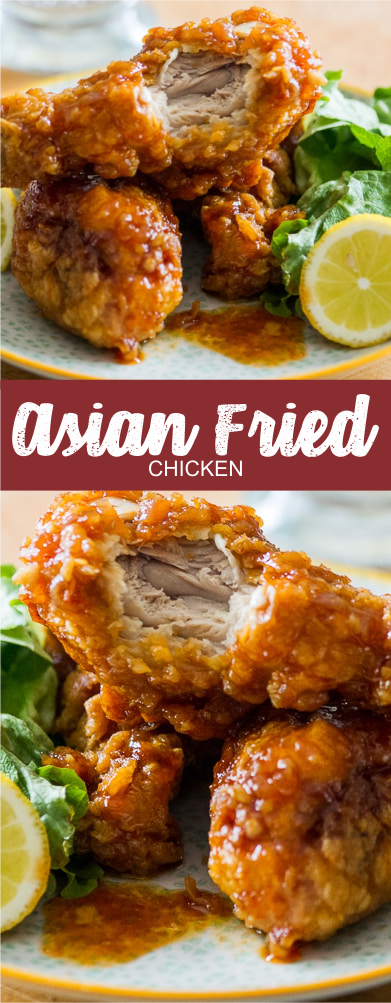 ASIAN FRIED CHICKEN   Crate Recipes4 #chicken #chickenrecipes #chickendinner #easyfoodrecipes #healthyfood #healthyrecipes #hawaiianfoodrecipes