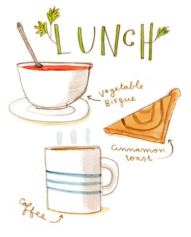Abigail Halpin: Lunch