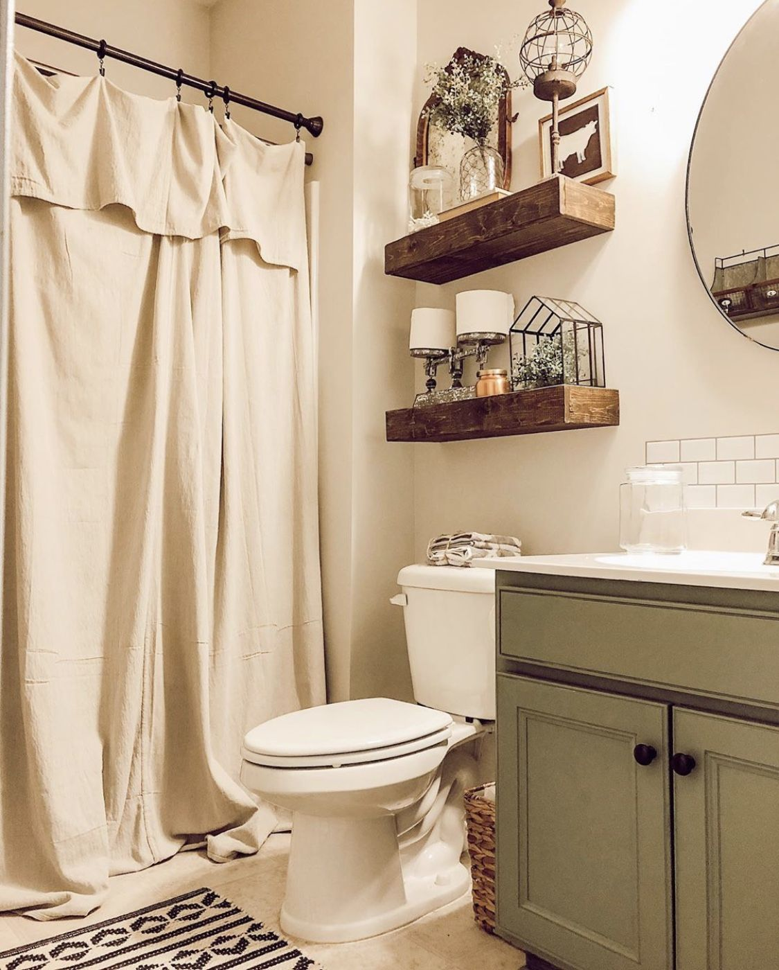 Simple Ways To Update Your Bathroom On A Budget Cheap Bathroom Remodel Simple Bathroom Decor Cheap Bathrooms
