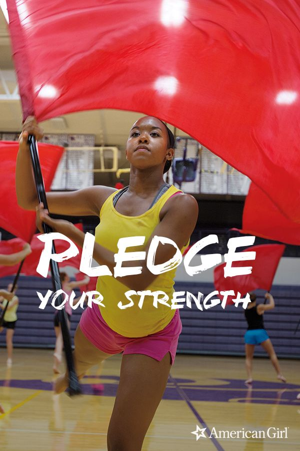 Every girl's special strength makes all girls stronger. That's why American Girl is inviting you to pledge what makes you special. Create your one-of-a-kind pinky pledge at americangirl.com/pledge