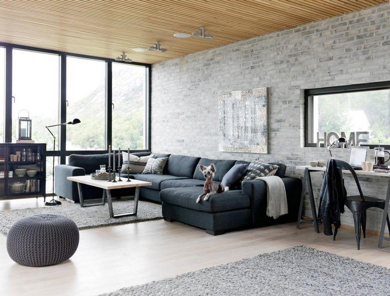 salon style industriel et id es emprunter pour le recr er style industriel chic salon style. Black Bedroom Furniture Sets. Home Design Ideas