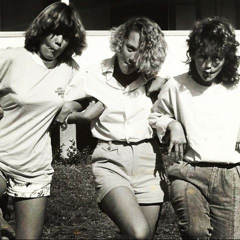 46/365 BLACK & WHITE. old photo of biology camp at