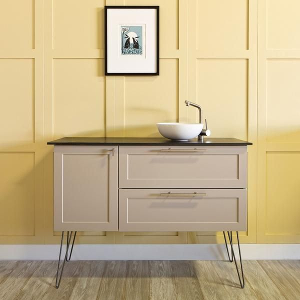 Bathroom Vanity With Hairpin Legs