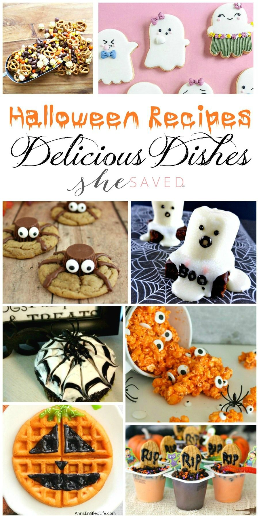 Delicious Dishes Party: Favorite Halloween Recipes | Halloween ...