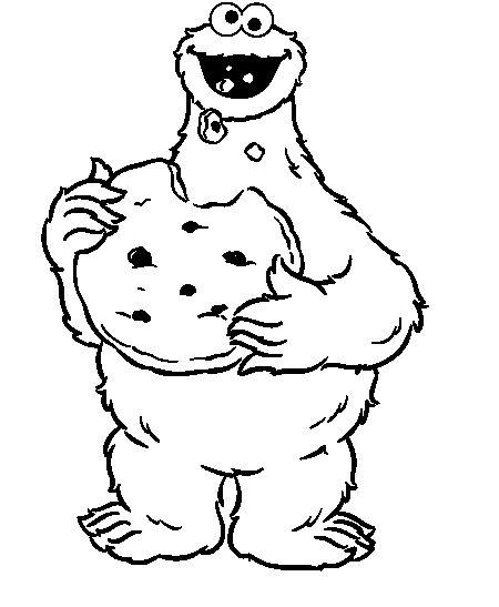 Cookie Monster Eat Bread Gambar