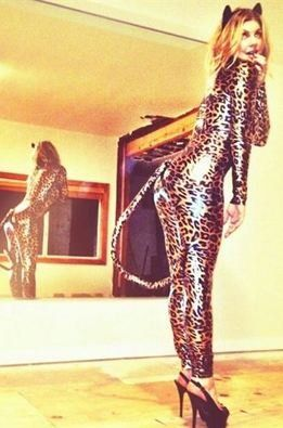 Kardashian, Fergie y Heidi Klum y sus disfraces para Halloween
