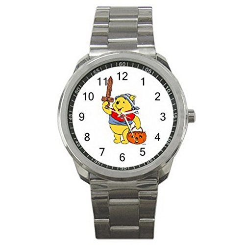 Halloween Clip Art ES9WHLW021 Relojes de pulsera Men's Wristwatches Stainless Steel