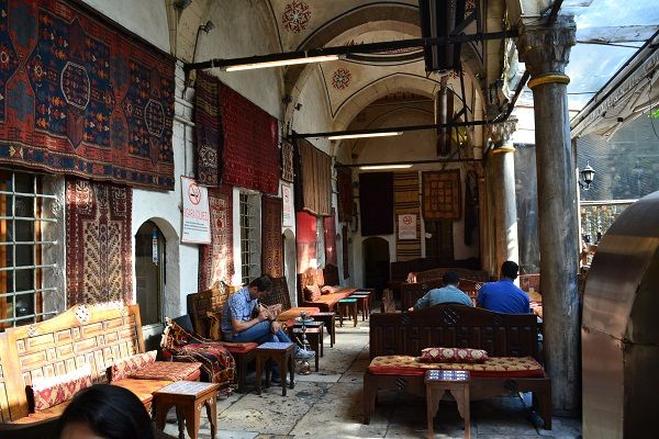 tourist in istanbul