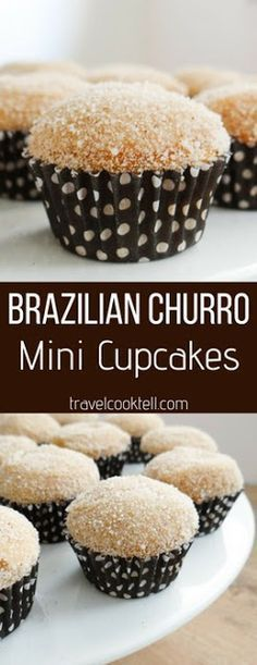Brazilian Churro Mini Cupcakes