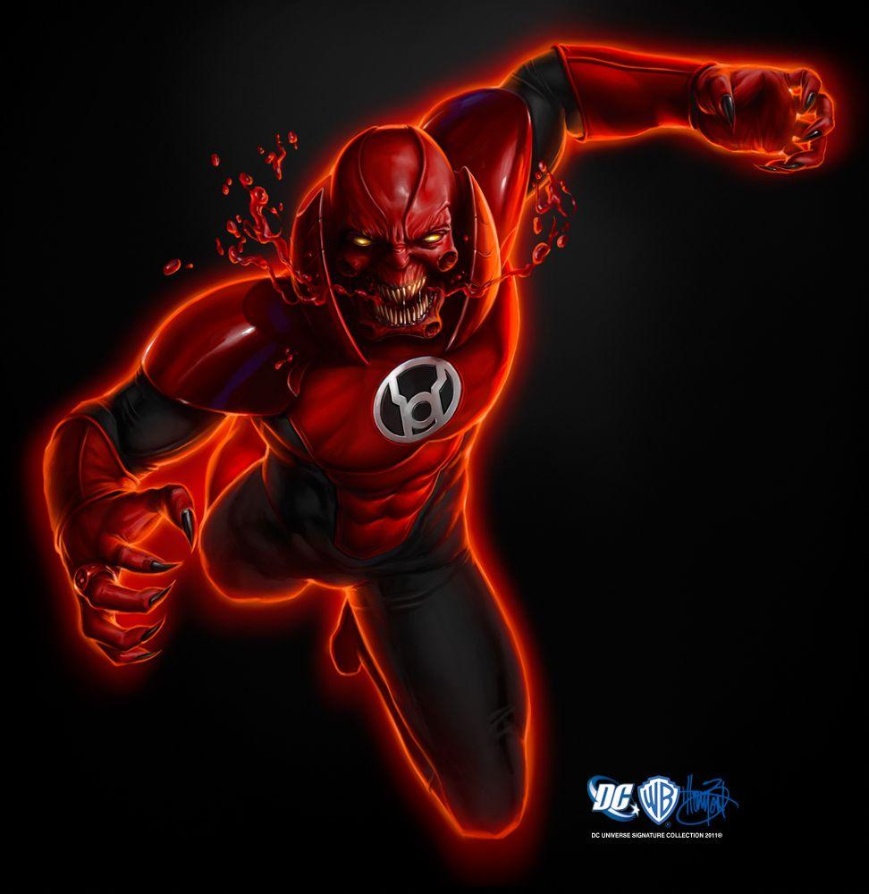 Atrocitus Red Lantern Red Lantern Corps Lanterns