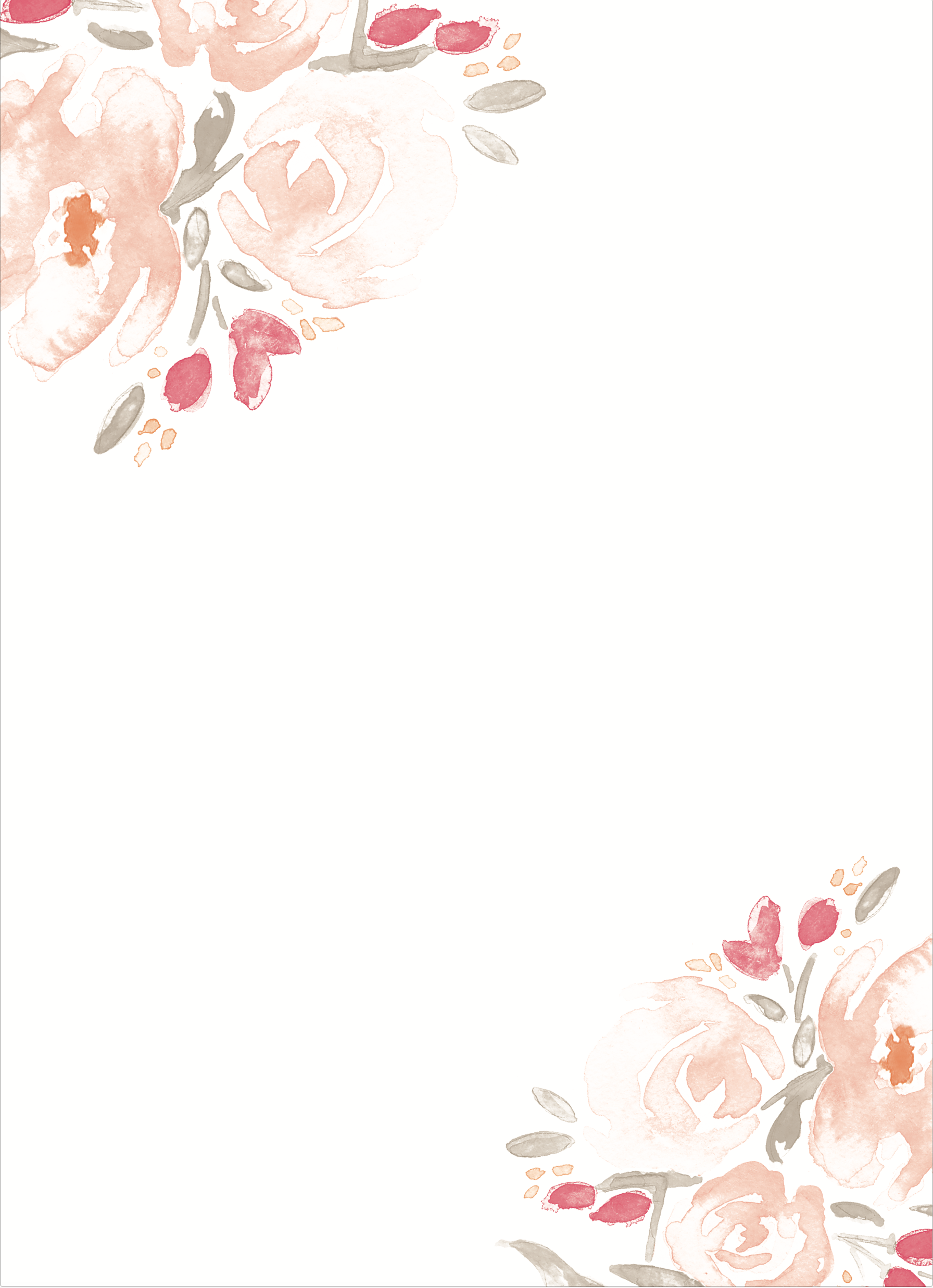 Watercolor Bouquet Wedding Invitations | Pinterest | Blumenrahmen ...