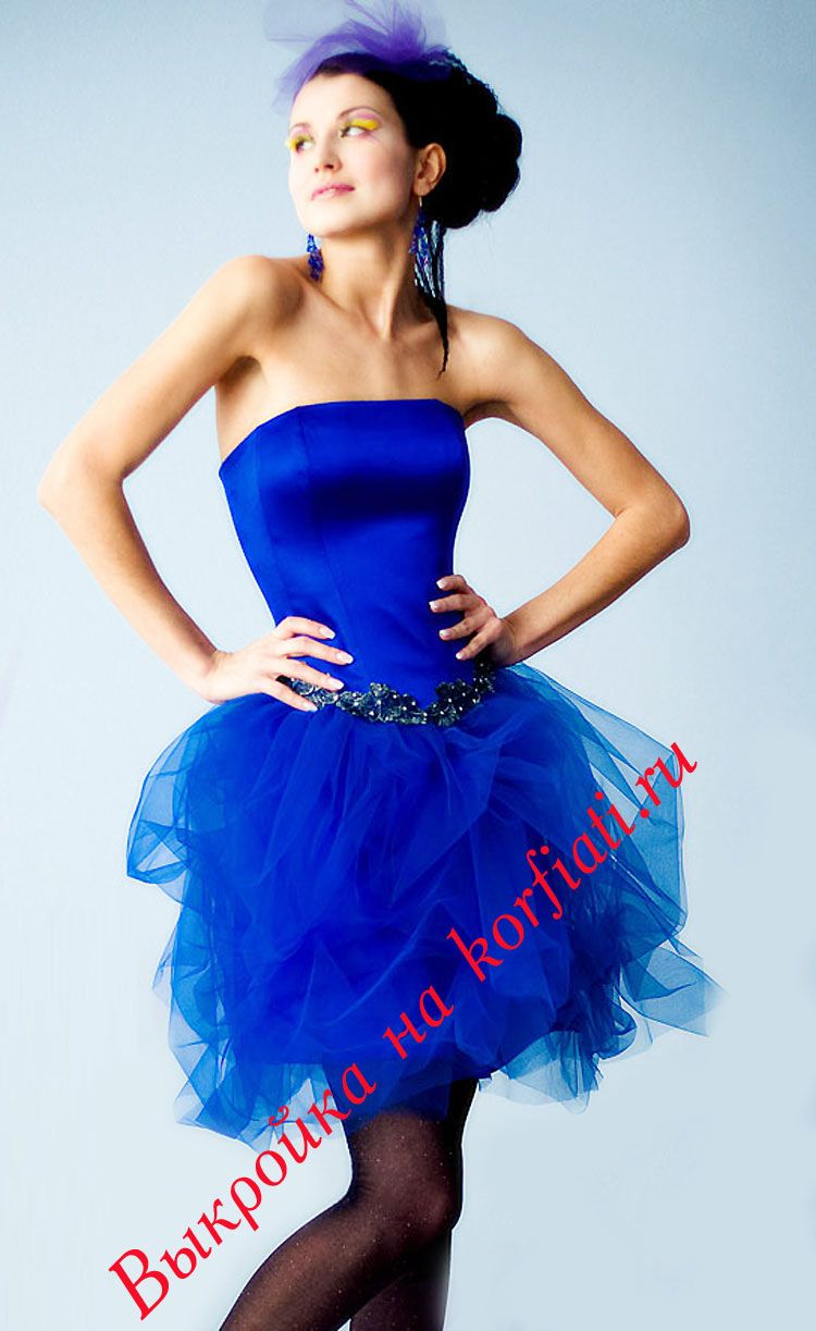 Как сшить пышной юбку для платья фото 679