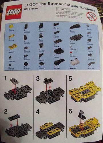 The Lego Batman Movie Minibuild My Pins Pinterest Lego Batman