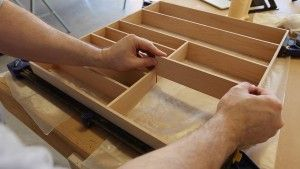 how to make a silverware organizer cnc projects silverware tray rh pinterest com