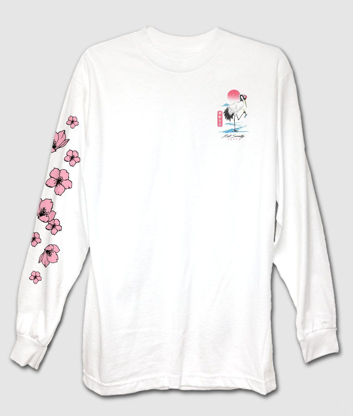 2a5483a4d549 Crane Tokyo Mens Long Sleeve T-Shirt in 2019 | Me love you long tee ...
