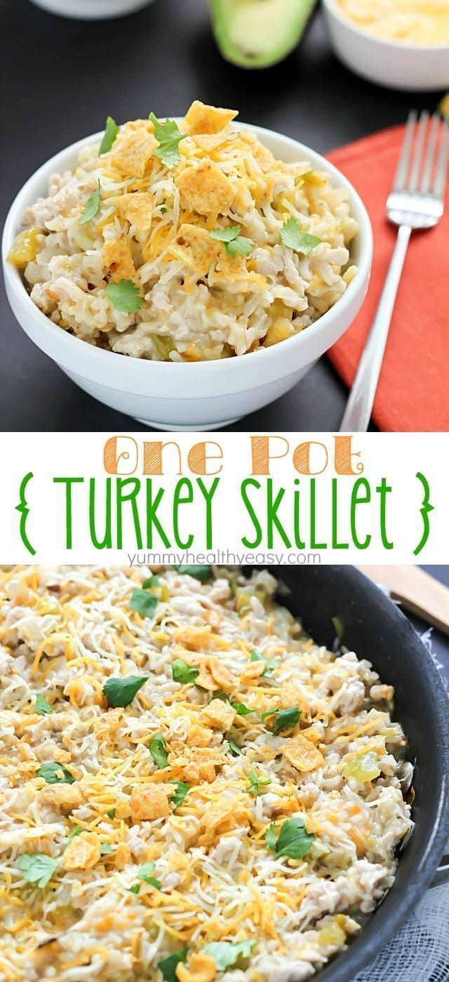 One-Pot Turkey Skillet Recipe