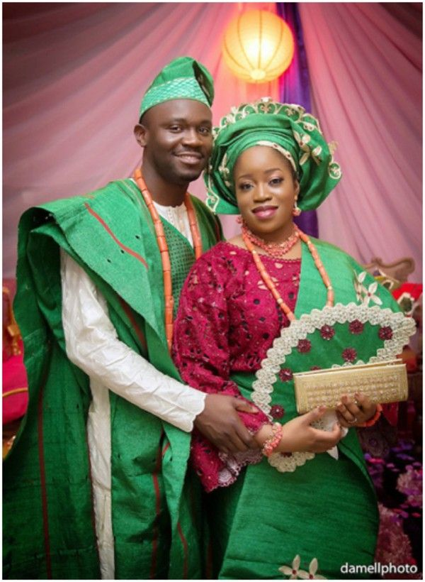 Yoruba Wedding Pictures - Engagement Attire Inspiration | Aso ...