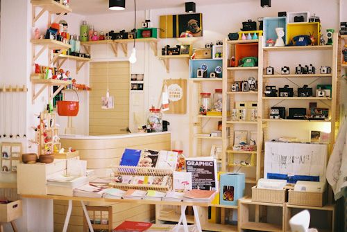 Cute shop in Singapore.  It's called The Little Dream Store