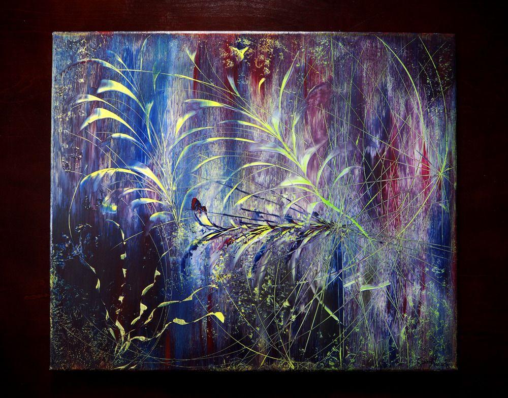 AuBergewohnlich Abstrakte Malerei #ACRYLBILD #abstrakt #modern #Kunst #Bilder #Leinwand  #Gemälde