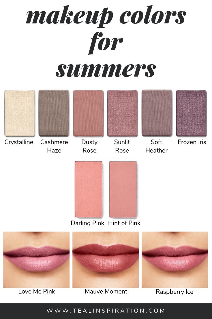 Makeup For Summers Teal Inspiration Soft Summer Makeup Makeup Shades Colorful Makeup
