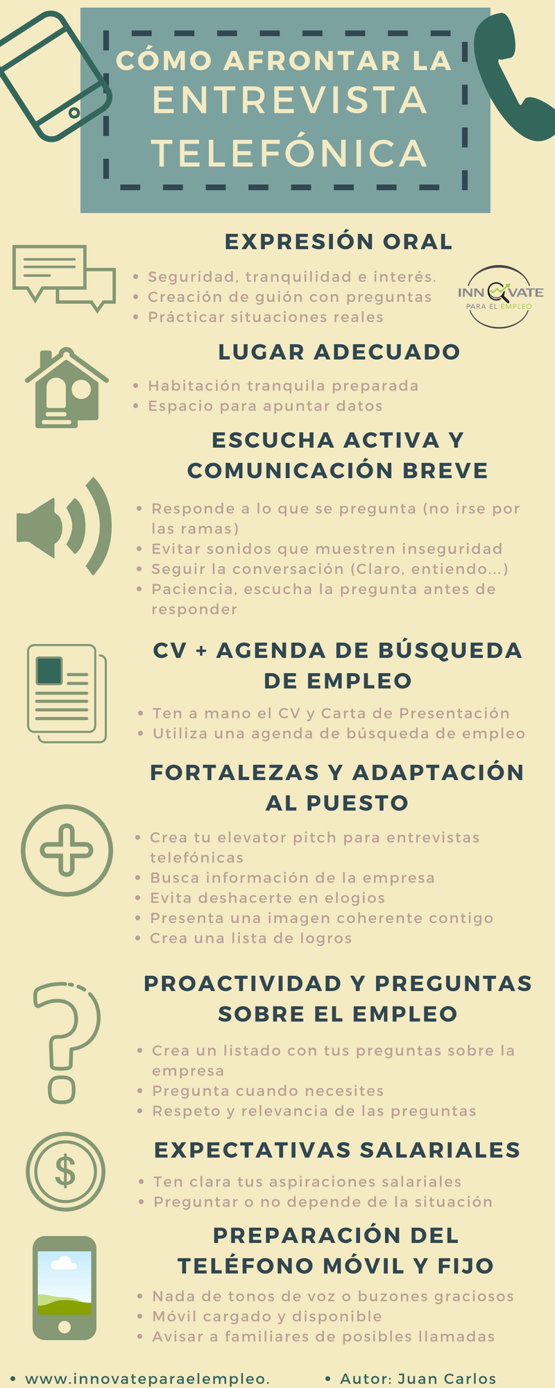 Cómo Afrontar La Entrevista Telefónica Entrevista Entrevista De Trabajo Expresión Oral