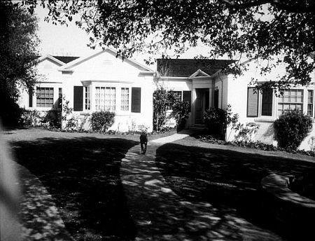 Humphrey Bogart's home, circa 1947.