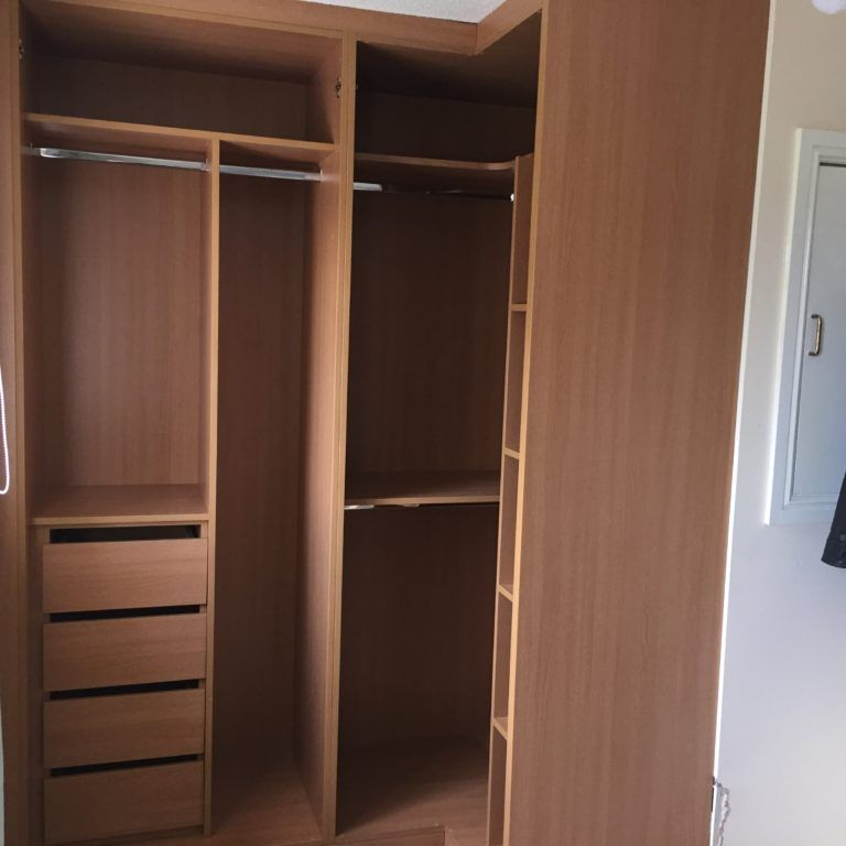 Building A Wardrobe Over A Stairs Bulkhead Stairs Bulkhead Build A Wardrobe Stair Box In Bedroom
