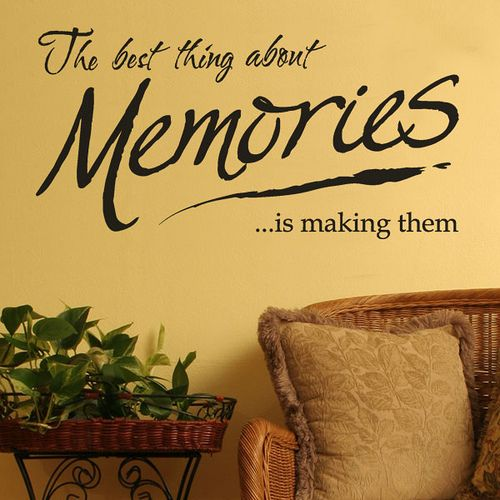 Memories Quote Wall Stickers And Lettering Making Memories Quotes Memories Quotes Wall Stickers Quotes