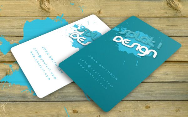 Splat business card with psd by robby designs on deviantart bc looking for a grunge business card psd free look no more splat business card design is easy to edit and print ready a professional business card des reheart Images
