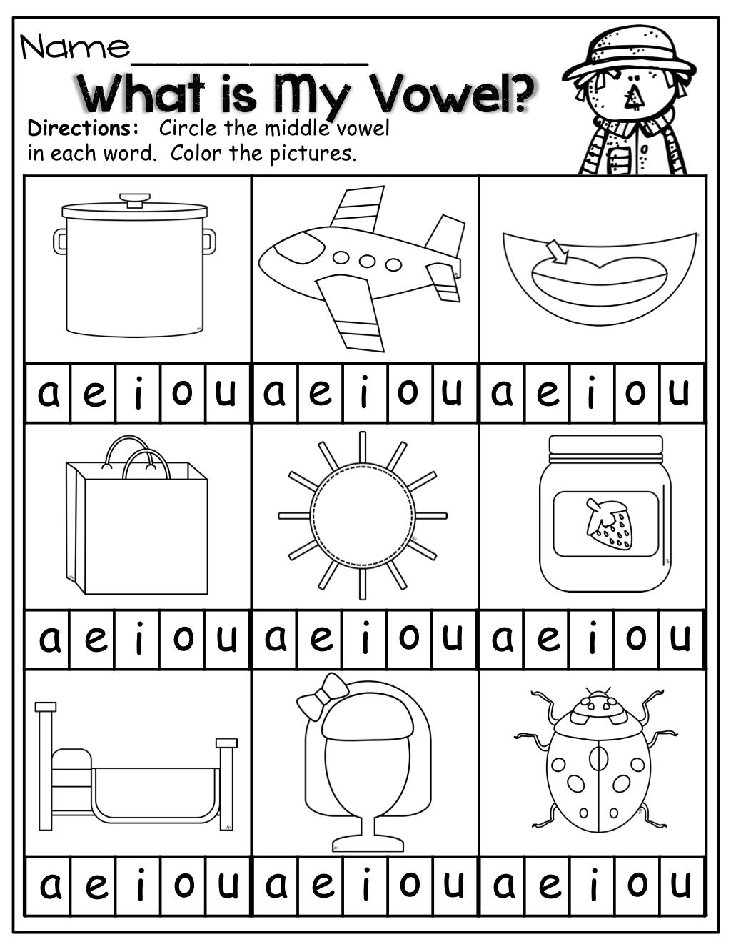 The Moffatt Girls Fall Math And Literacy Packet Kindergarten Kindergarten Literacy Teaching Vowels Education Elementary Math [ 1325 x 1024 Pixel ]