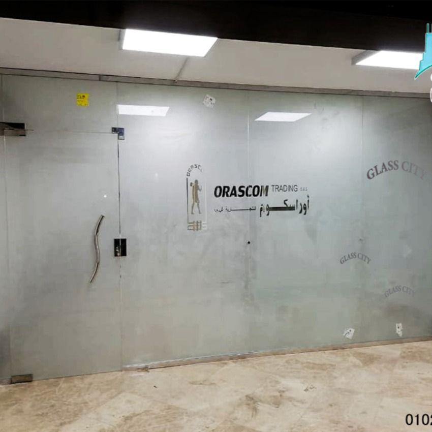 بارتشن قواطع زجاج من جلاس سيتى Glass Bathtub Bathroom