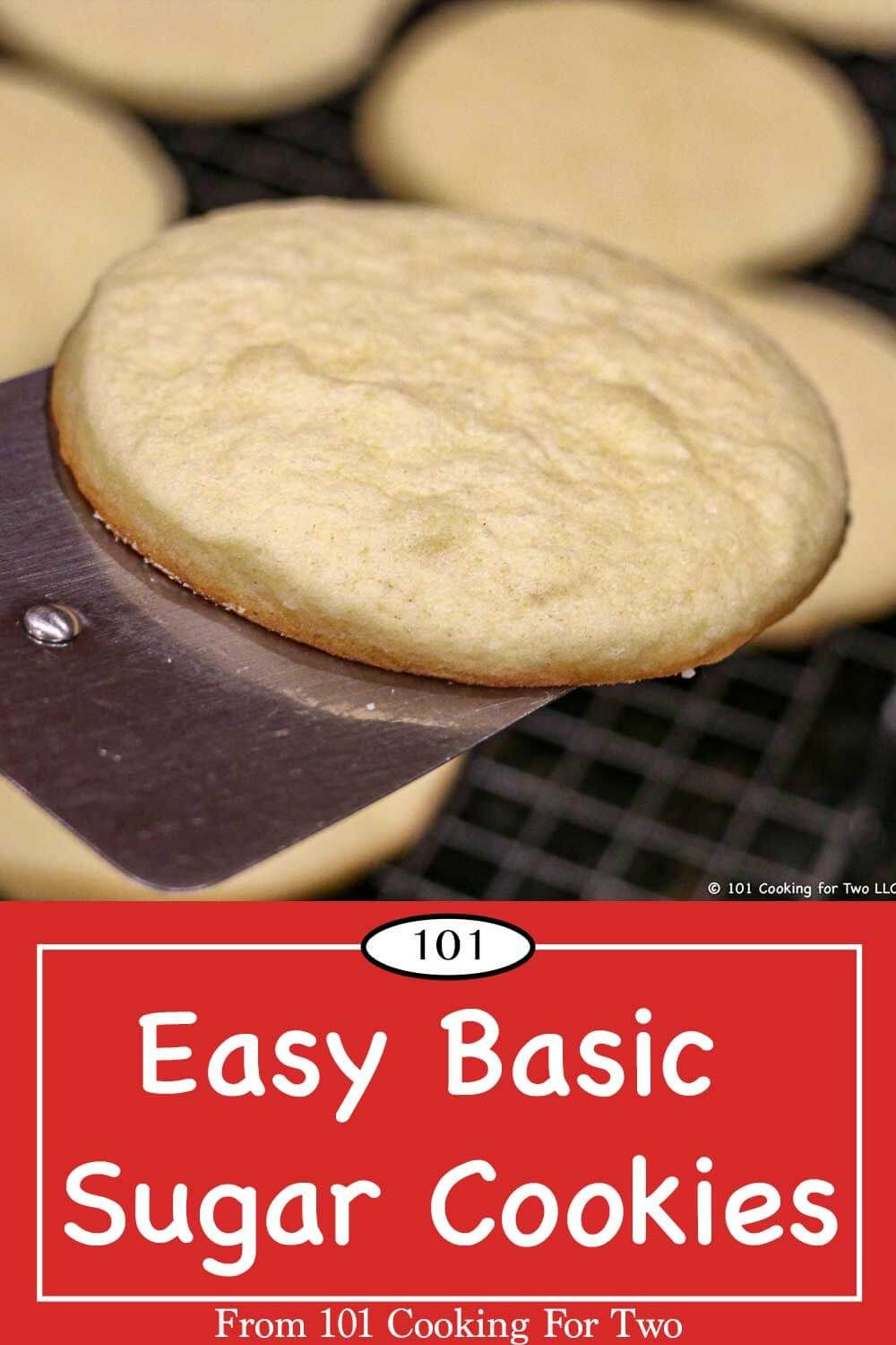 This easy basic sugar cookie recipe is a delicious classic that every home cook needs. Once you have the basic sugar cookie dough, the possibilities are endless for holiday treats. Just follow these simple step by step photo instructions.