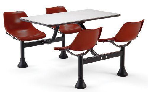 Breakroom Table Chair Set 24 X 48 Table Set 849 00 Water And Fire Proof Table And Chairs 24 X 48 Top Au Break Room Office Furniture Set Table