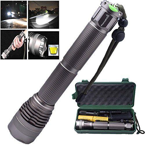 Promethfire Tactical Led Flashlight Kit 3 Premium Flashlights Rechargeable 1200 Lumens 5 Modes Water Res Tactical Led Flashlight Flashlight Kit Led Flashlight