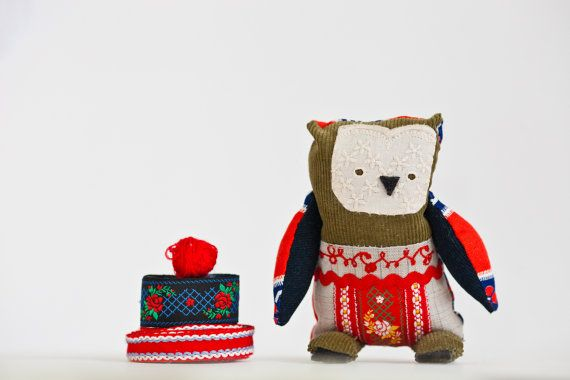 "Little russian owl ""Timofei"""