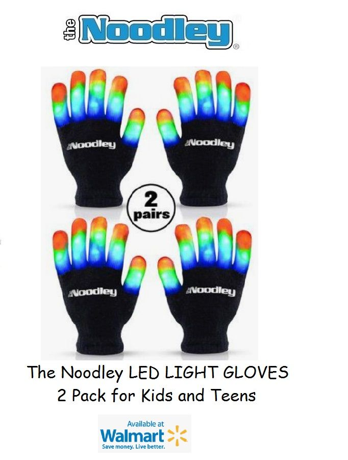 The Noodley LED Light toys for Kids, Teens and Tweens. Great Christmas Gift or Present for Kids!  #stockingstuffersforadults
