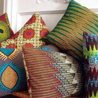 tribal print pillows