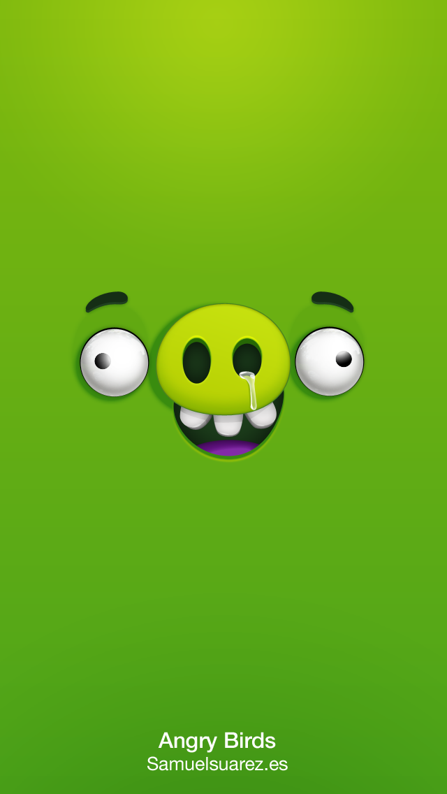 Dribbble Angry Birds Pig Png By Samuel Suarez Cartoon Wallpaper Iphone Funny Phone Wallpaper Angry Birds Pigs