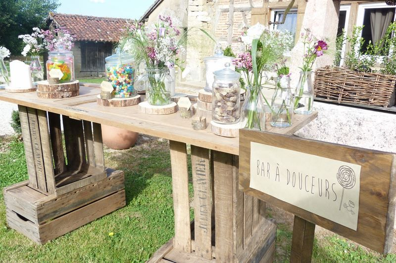 Mariage campagne bressane harmonia wedding planner stuff - Deco table campagne ...