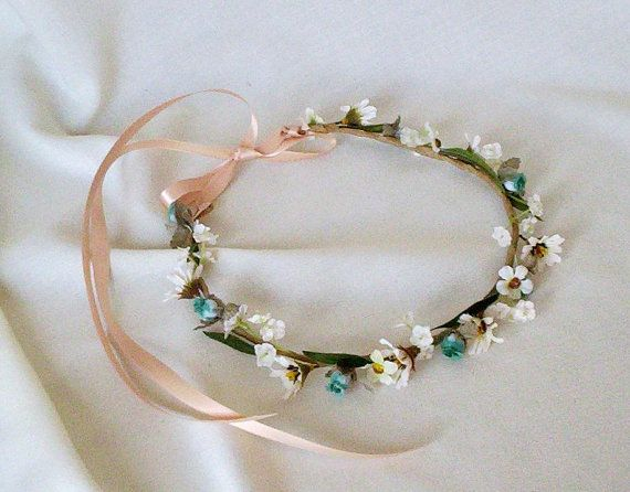 Bridal Floral Crown by Michele at AmoreBride by AmoreBride on Etsy, $35.00