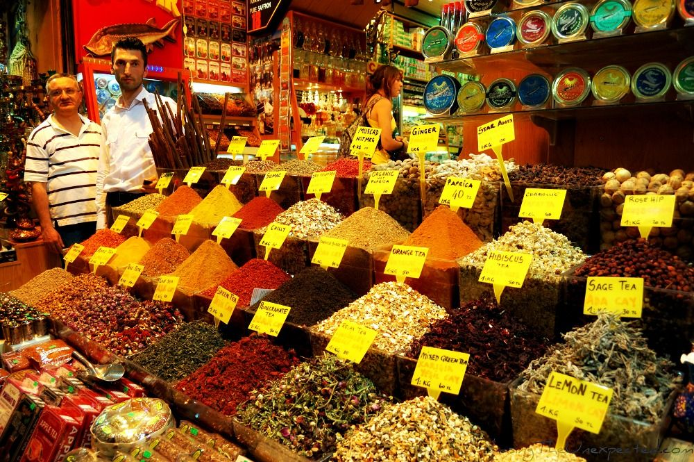 Resultado de imagen para istanbul spice bazaar