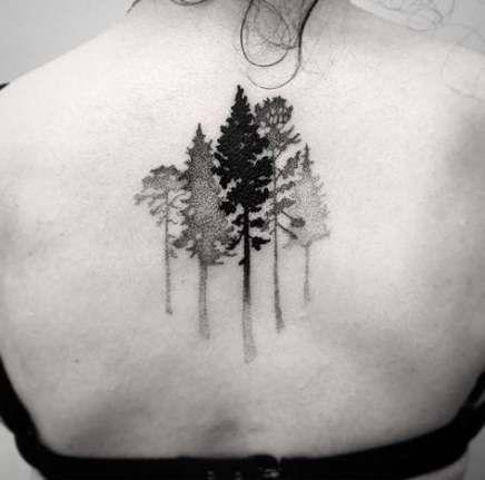 Photo of 20 idées de tatouage d'arbre à feuilles persistantes